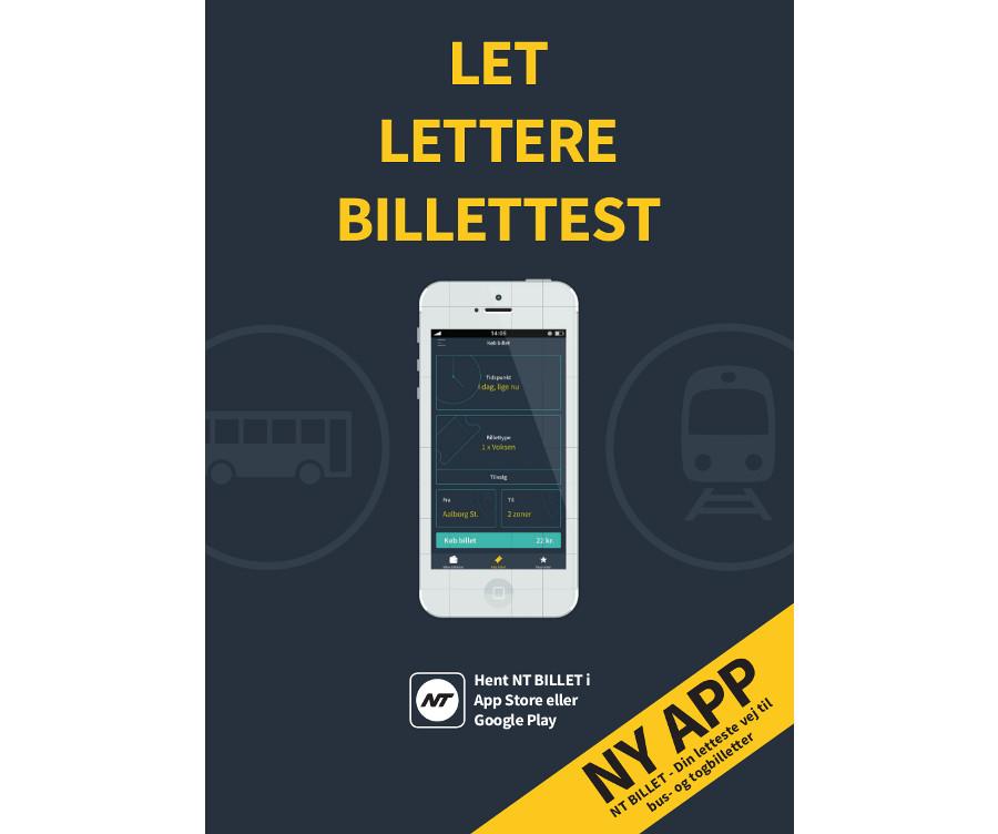Ny App Gør Det Billettere At Købe Billet Til Bus Og Tog I